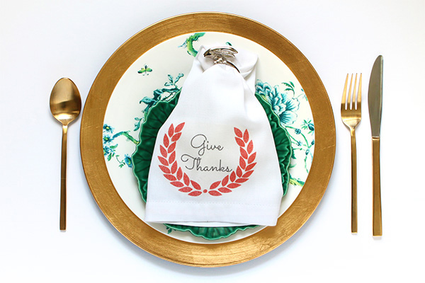 Printable Thanksgiving Napkins | Squirrelly Minds