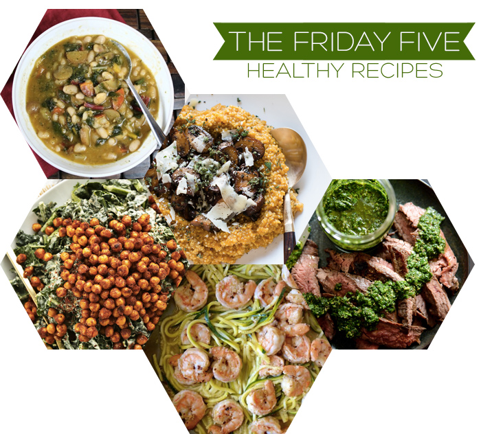 The Friday Five - Healthy Recipes | Squirrelly Minds