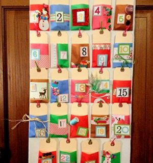 How to make a DIY Cardboard Box Advent Calendar