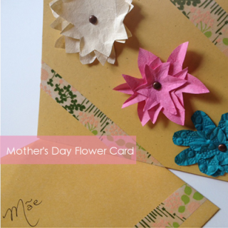 3D Flower Cards for Mother's Day