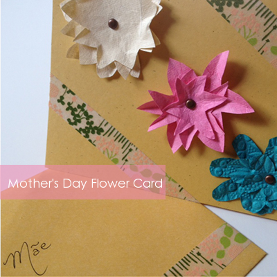 DIY 3D flower card | Squirrelly Minds