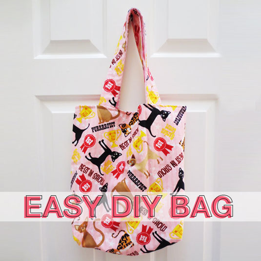Easy DIY bag by Anita | Squirrelly Minds