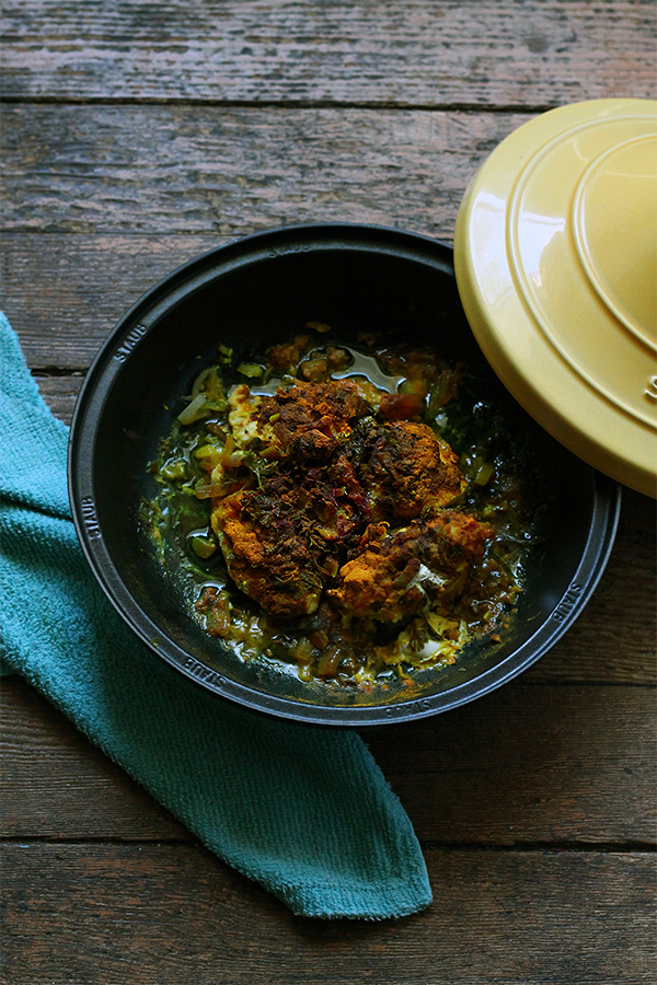 Recipe: Moroccan Tagine - Chicken with preserved lemons | Squirrelly Minds