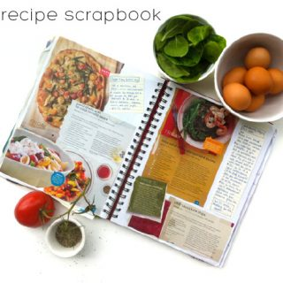 Give it away with Kate J: Create your own recipe scrapbook