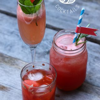 3 Watermelon Cocktails