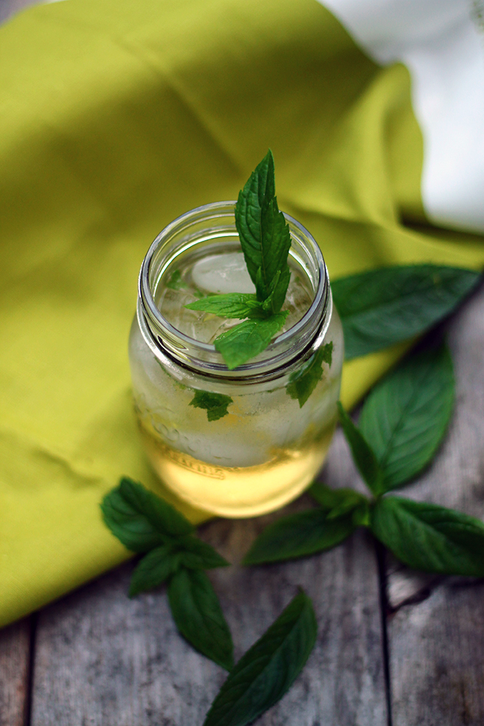 Moroccan Green Tea Mojito Recipe | Squirrelly Minds
