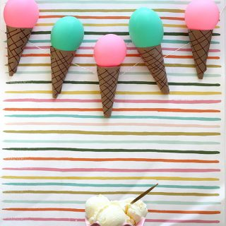 Print/DIY | Ice Cream Cone Garland