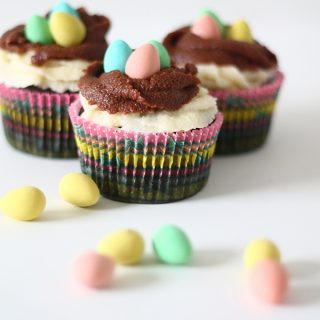 Eat/Holiday | Easter Nest Cupcakes