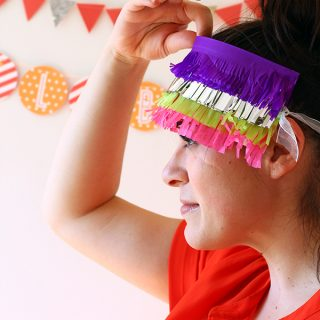 DIY/Holiday | Fringe Pinata Blindfold