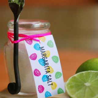 Print/Eat | Margarita Salt Gift Tag Printable and Margarita Recipe