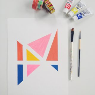 DIY | Easy Geometric Art