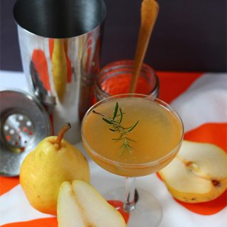 Eat | Pear Cocktail and Simple Syrup Recipe