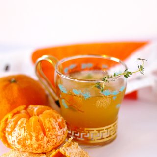 Mandarin Orange Simple Syrup and Cocktail Recipe