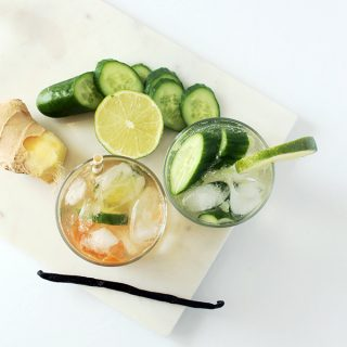 Eat | Ginger Kick Gin and Tonic Cocktail and Mocktail