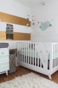 Mint, Grey and Gold Nursery | Squirrelly Minds