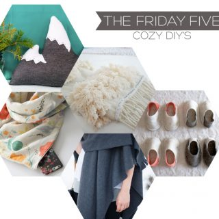 The Friday Five | Cozy DIY's