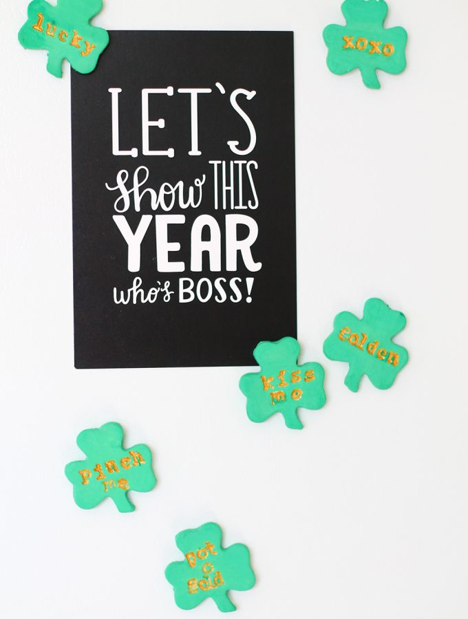 DIY Conversation Shamrocks | Squirrelly Minds
