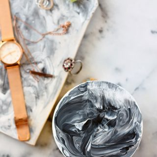 DIY | Painted Marble Effect