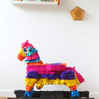 DIY Piñata Rocking Horse