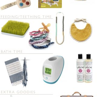 14 perfect baby gifts under $100 for the design minded mama