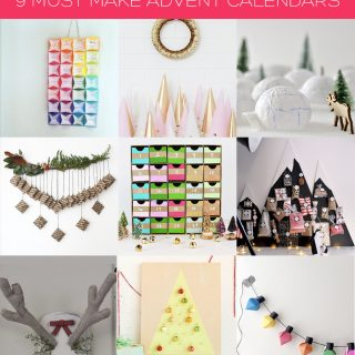 Holiday | 9+ Must Make Advent Calendars