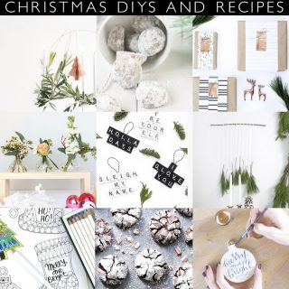 20 Last Minute Christmas DIY's and Recipes