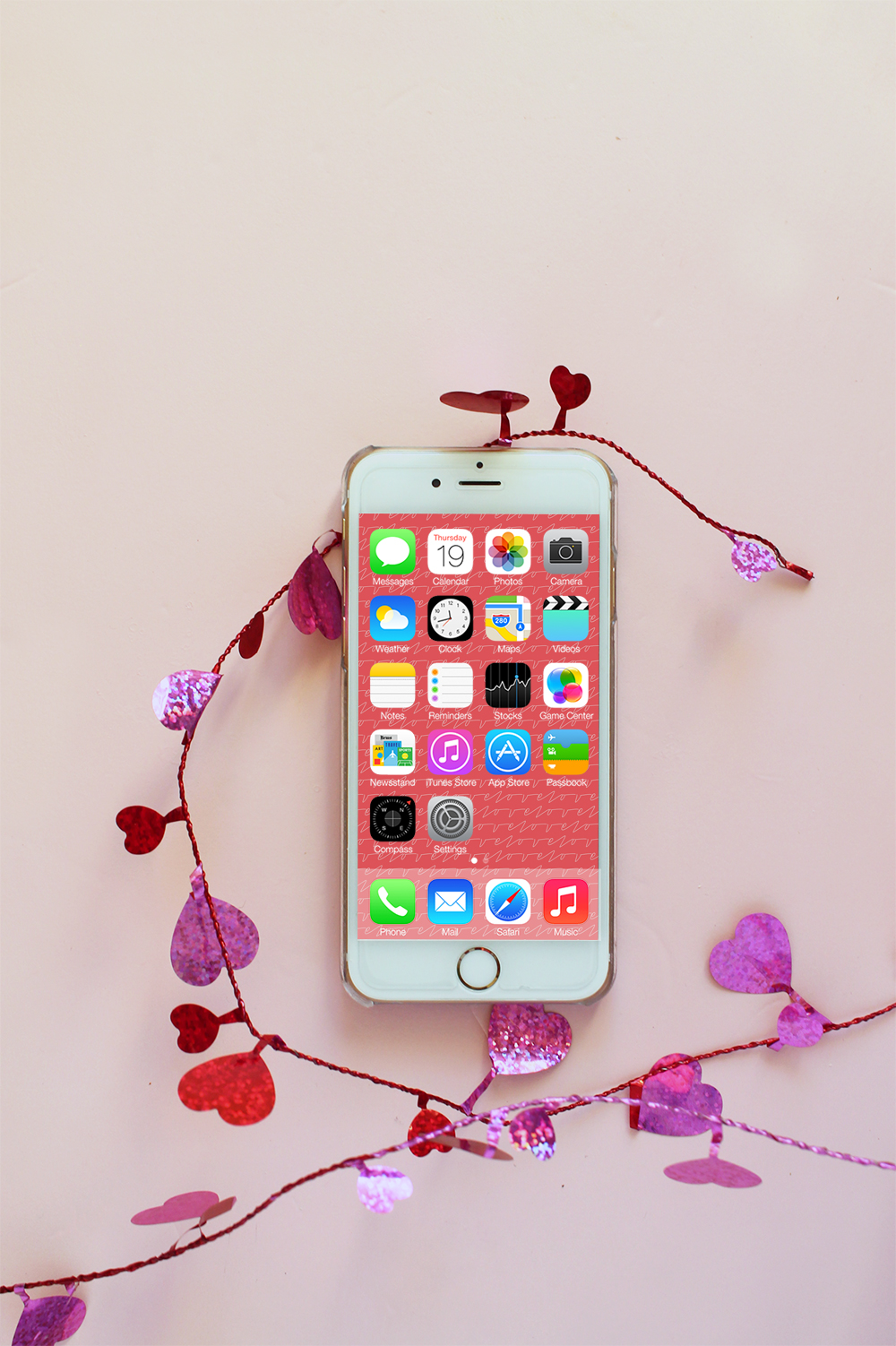 Free Valentine S Day Iphone Wallpapers Squirrelly Minds