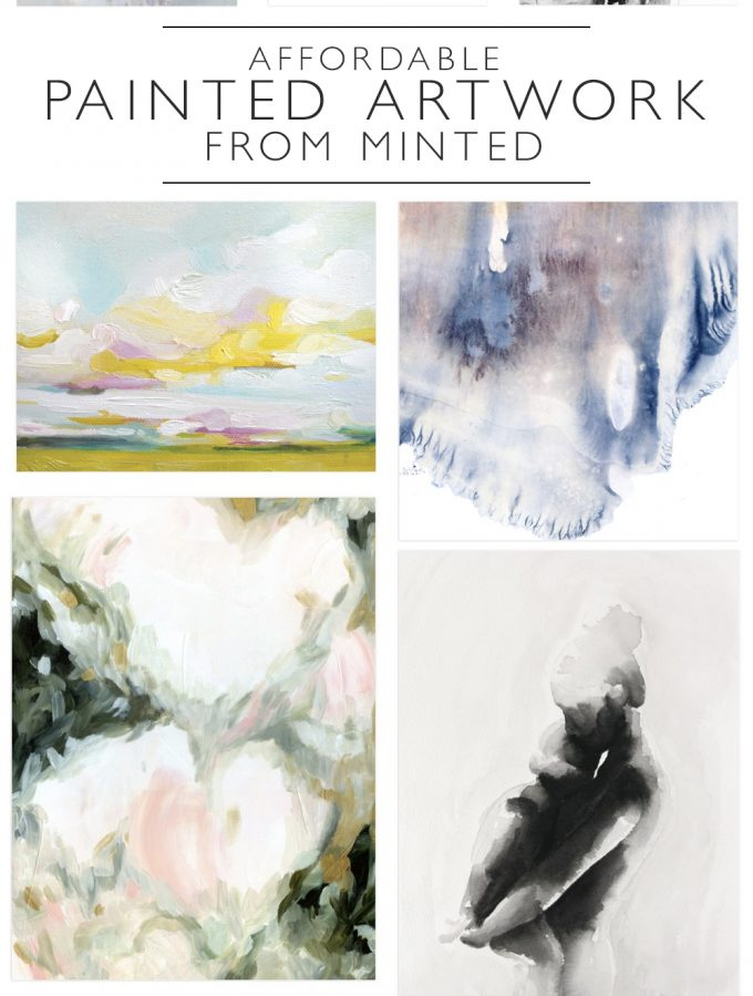 Affordable Painted Mint Art from Minted | Squirrelly Minds