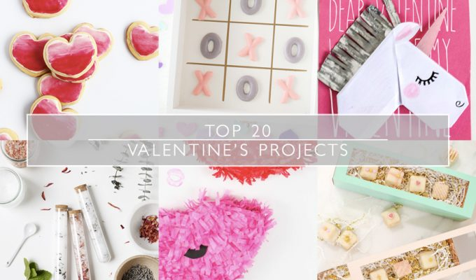 Top 20 Valentine's Projects of 2017