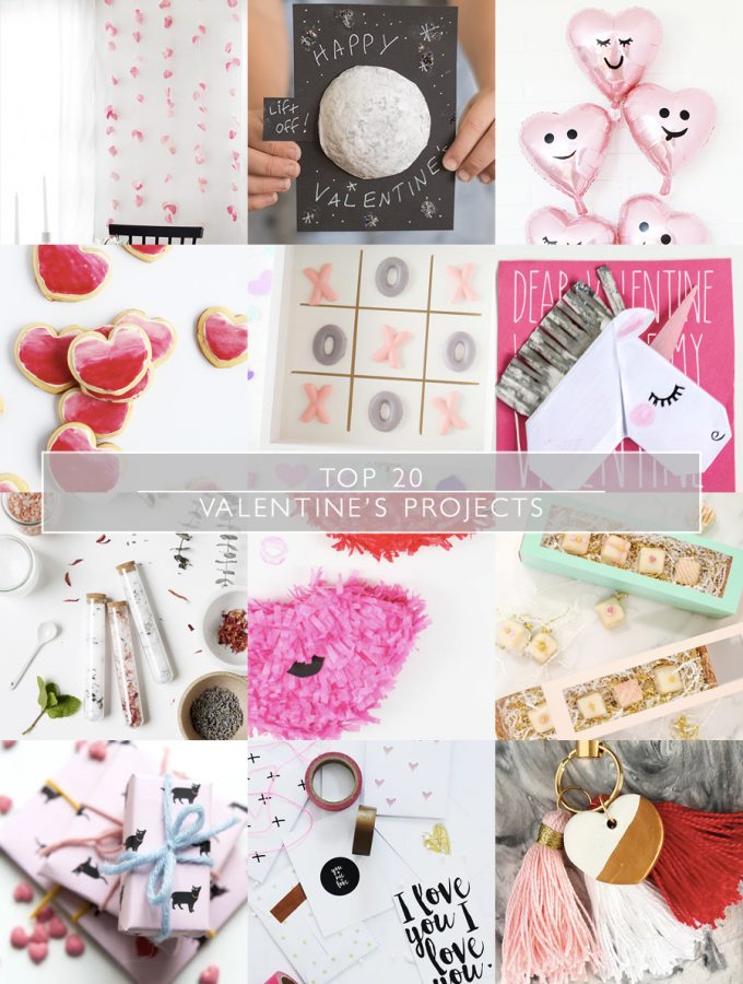 Top 20 Valentine's Projects | Squirrelly Minds