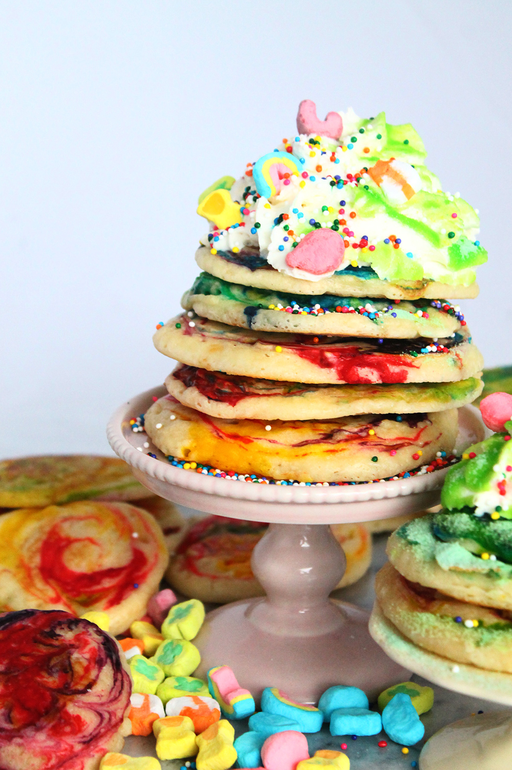 How to make marbled pancakes | Squirrelly Minds