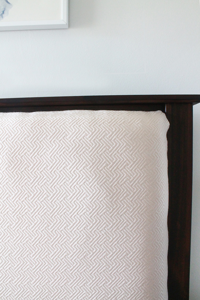 How to create an upholstered mission style headboard insert | Squirrelly Minds