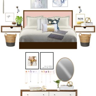 Mock Up Bedroom Design and Inspiration