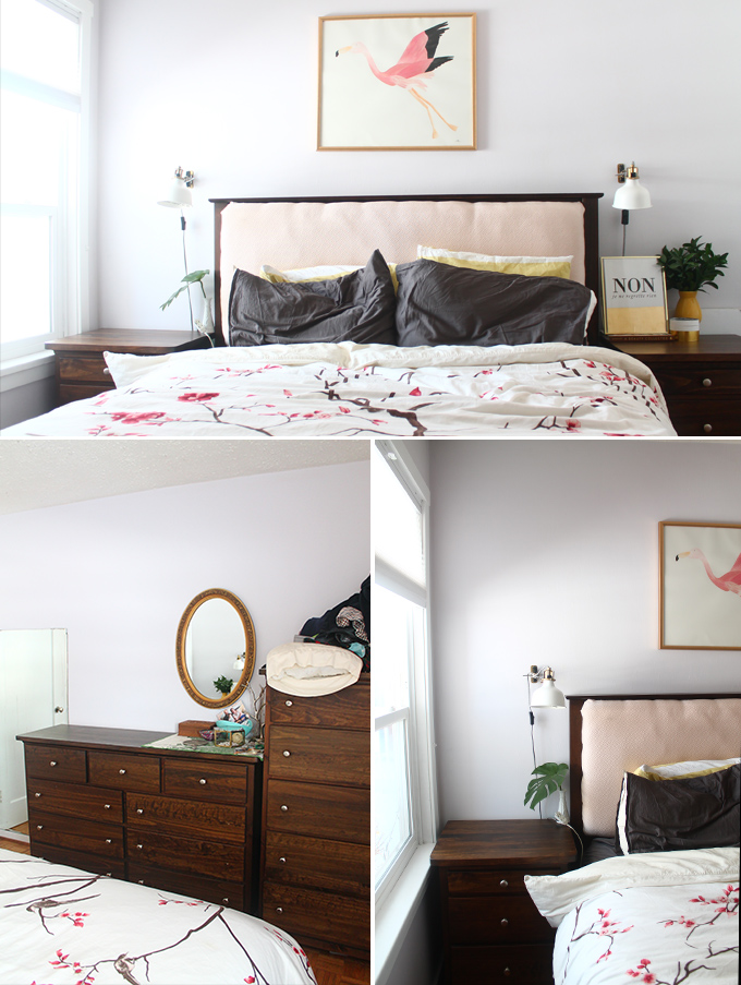 Small Master Bedroom Fresh Midcentury Makeover Squirrelly Minds
