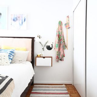 Small Master Bedroom Fresh Midcentury Makeover