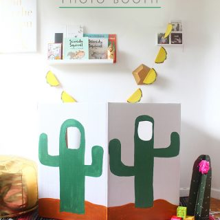 DIY Cactus Photo Booth