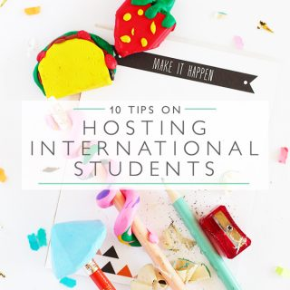 10 tips on hosting international students