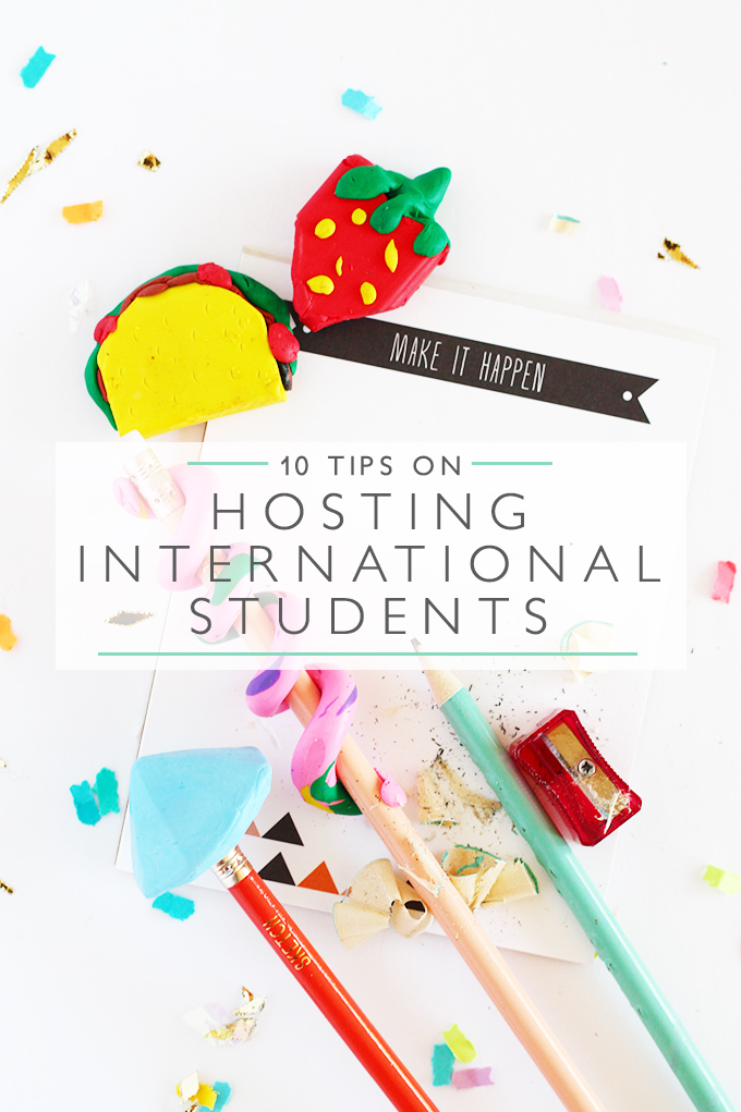10 tips on hosting international students | Squirrelly Minds