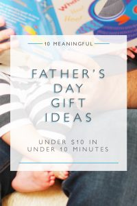 10 father's day gift ideas under $10 in under 10 minutes | Squirrelly Minds