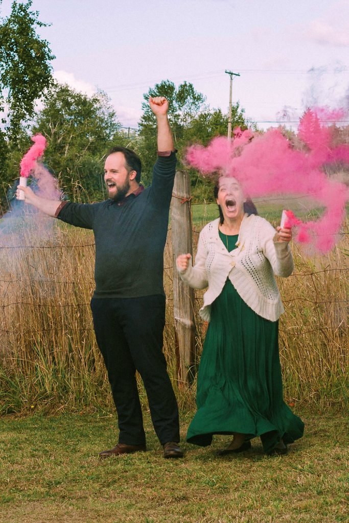 Autumn Brunch Gender Reveal | Squirrelly Minds