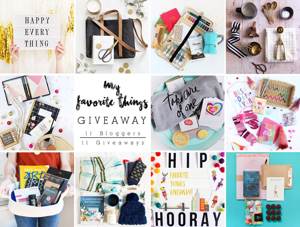 My Favourite Things Giveaway | Squirrelly Minds