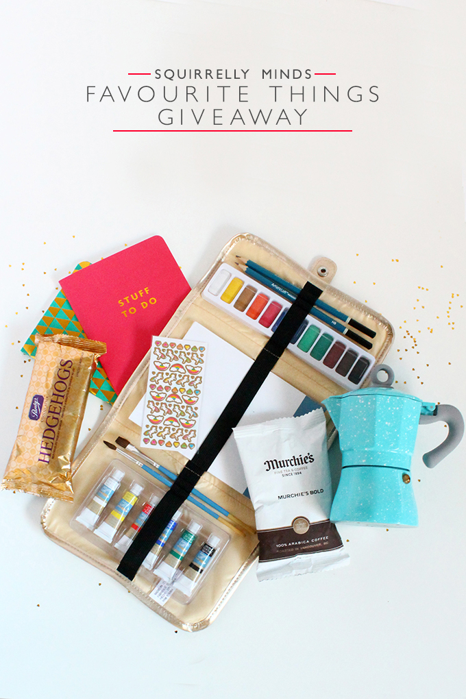 Favourite Things Giveaway