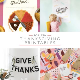 Top 10 Thanksgiving Printables