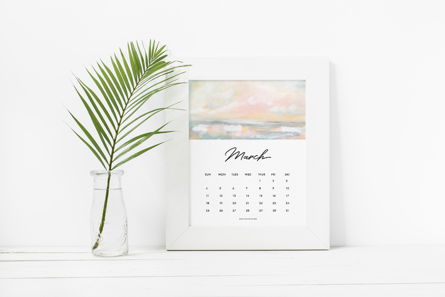 40+ Free Printable 2018 Calendars | Squirrelly Minds - Photo by Kristen Laczi
