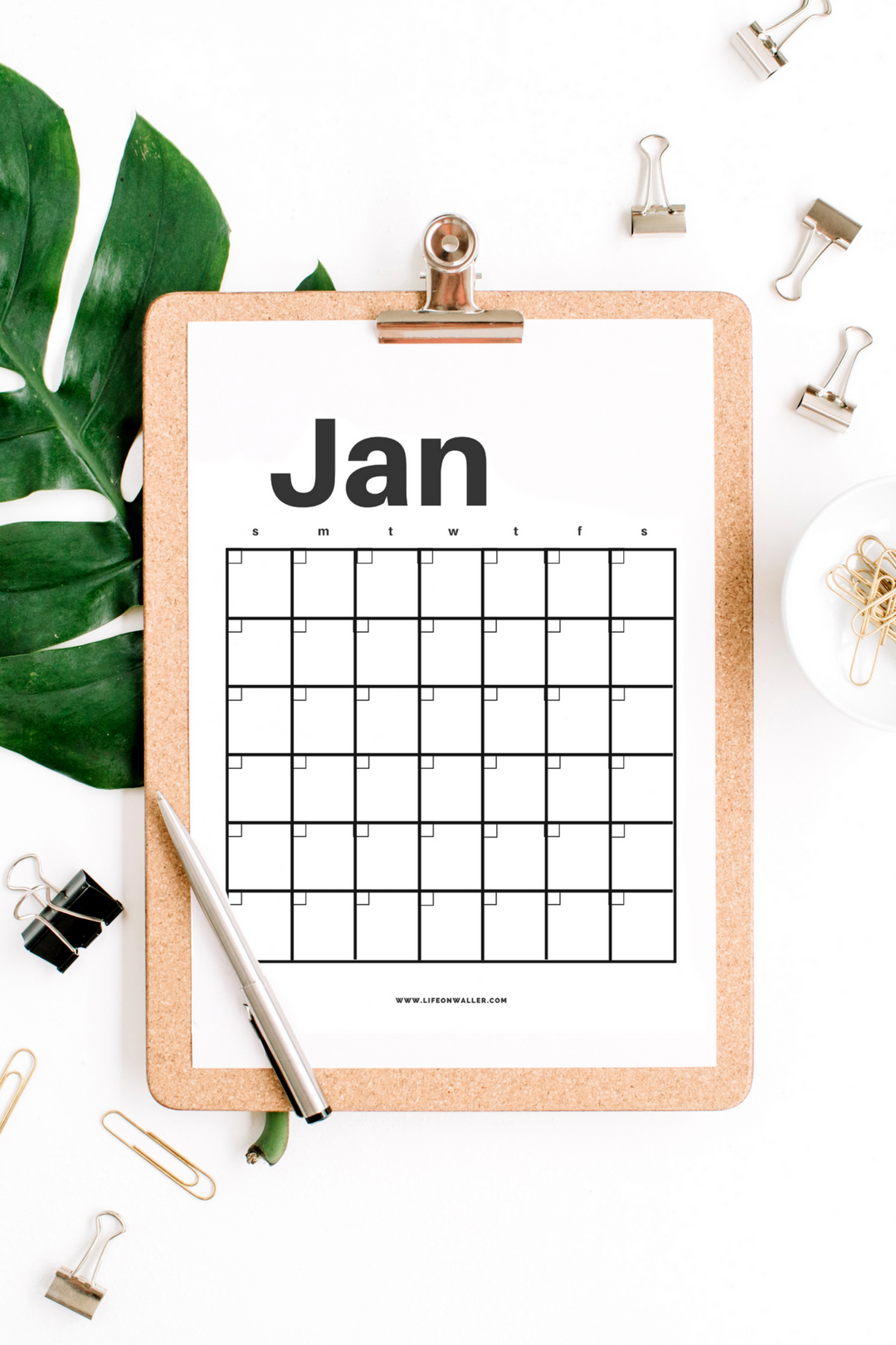 40+ Free Printable 2018 Calendars | Squirrelly Minds - Photo by Life on Waller