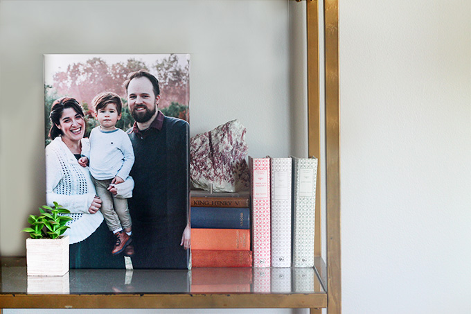 Family Portraits Printed on Canvas with Best Canvas | Squirrelly Minds