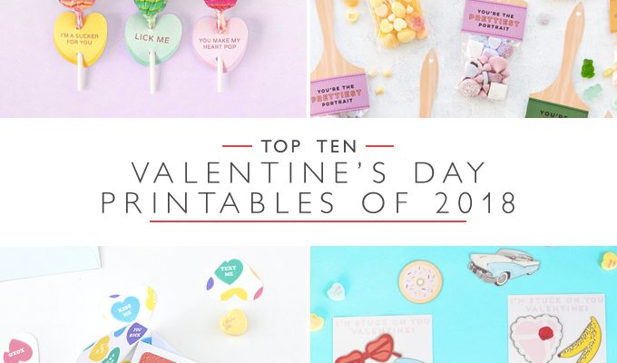 Top 10 Valentine's Day Printables of 2018