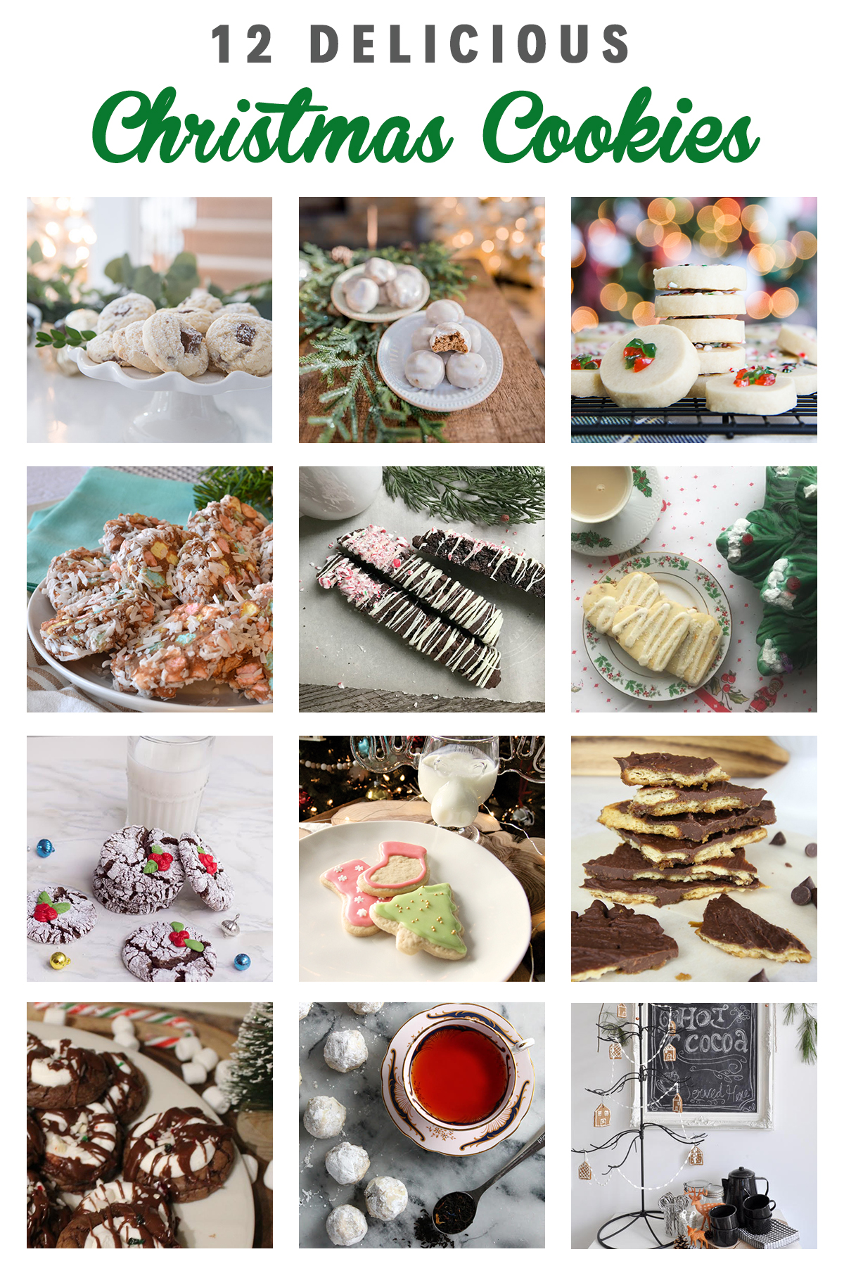 Christmas Cookie Blog Hop | Squirrelly Minds