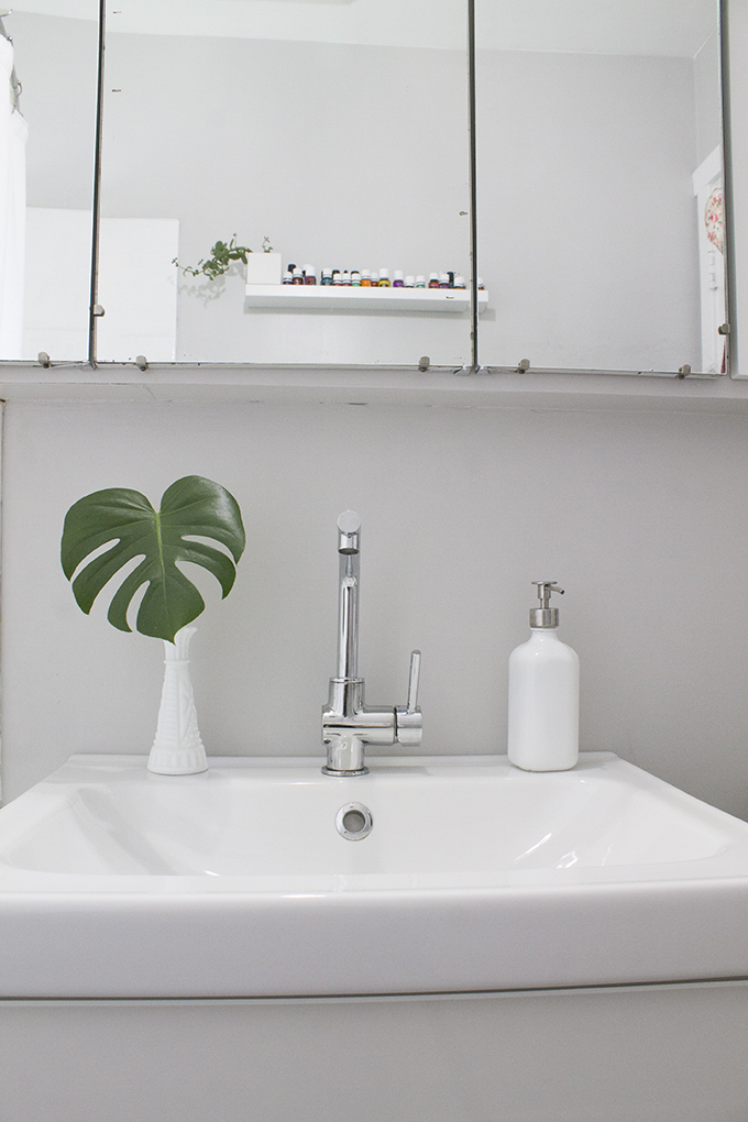 Small Bathroom Makeover | Squirrelly Minds