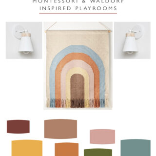 Montessori and Waldorf Inspired Playrooms